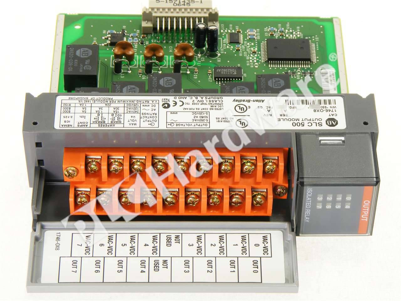 New in Box 1746-OX8 SER A SLC 500 Output Module