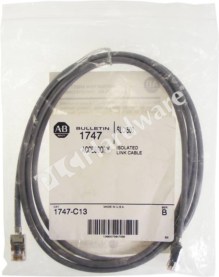 Plc Hardware Allen Bradley 1747 C13 Communication Cable