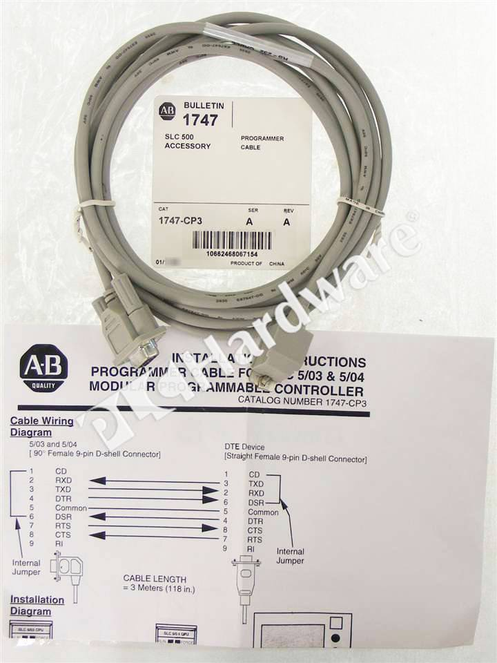 RA 1747 CP3 A NSO 1_b plc hardware allen bradley 1747 cp3 series a, new factory sealed 1747 c13 wiring diagram at edmiracle.co