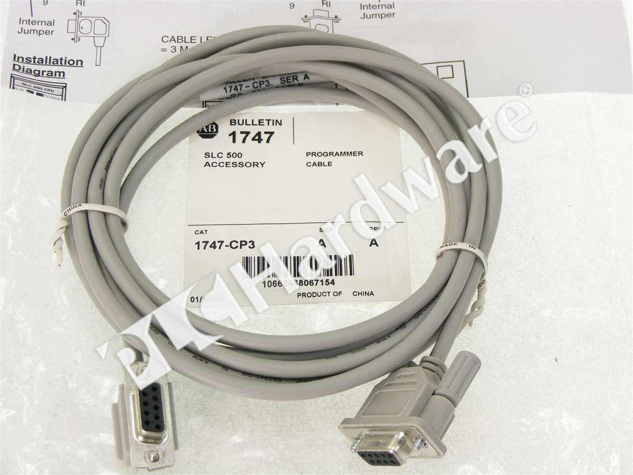 RA 1747 CP3 A NSO 2_b plc hardware allen bradley 1747 cp3 series a, new factory sealed 1747 c13 wiring diagram at edmiracle.co