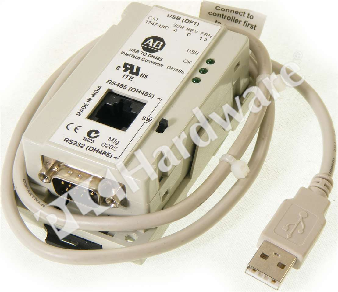 Plc Hardware Allen Bradley 1747 Uic Series A Used In A