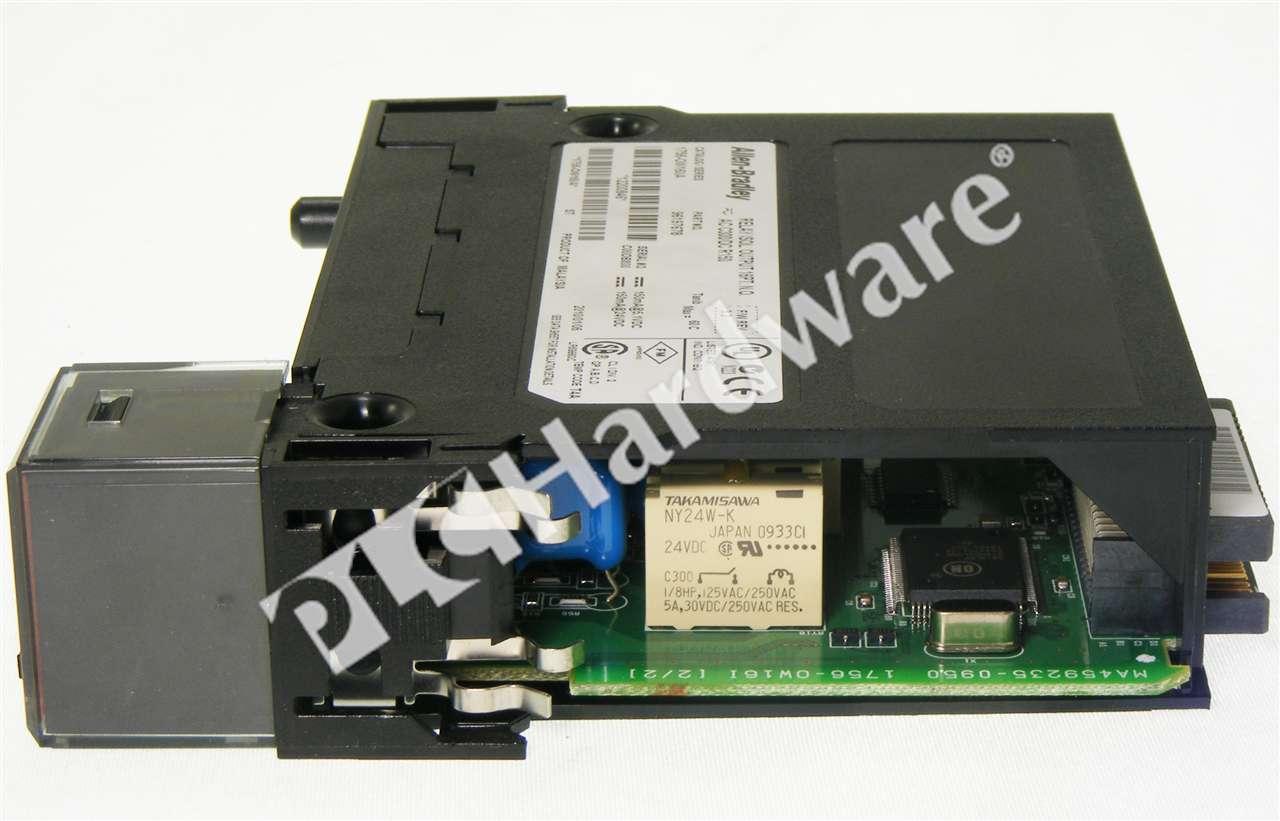 Ifm Wiring Block Electrical Diagram Plc Hardware Allen Bradley 1756 Ow16i Series A New 220v Sensor