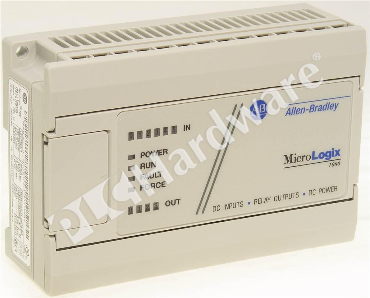 PLC Hardware: Allen-Bradley 1761-L10BWB MicroLogix 1000, 24V DC ...