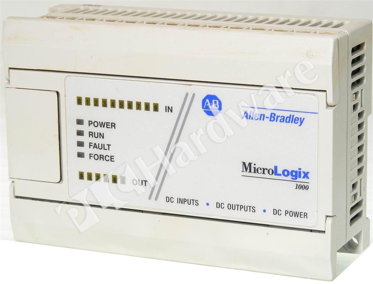 PLC Hardware - Allen Bradley 1761-L16BBB Series A, Used in a PLCH ...