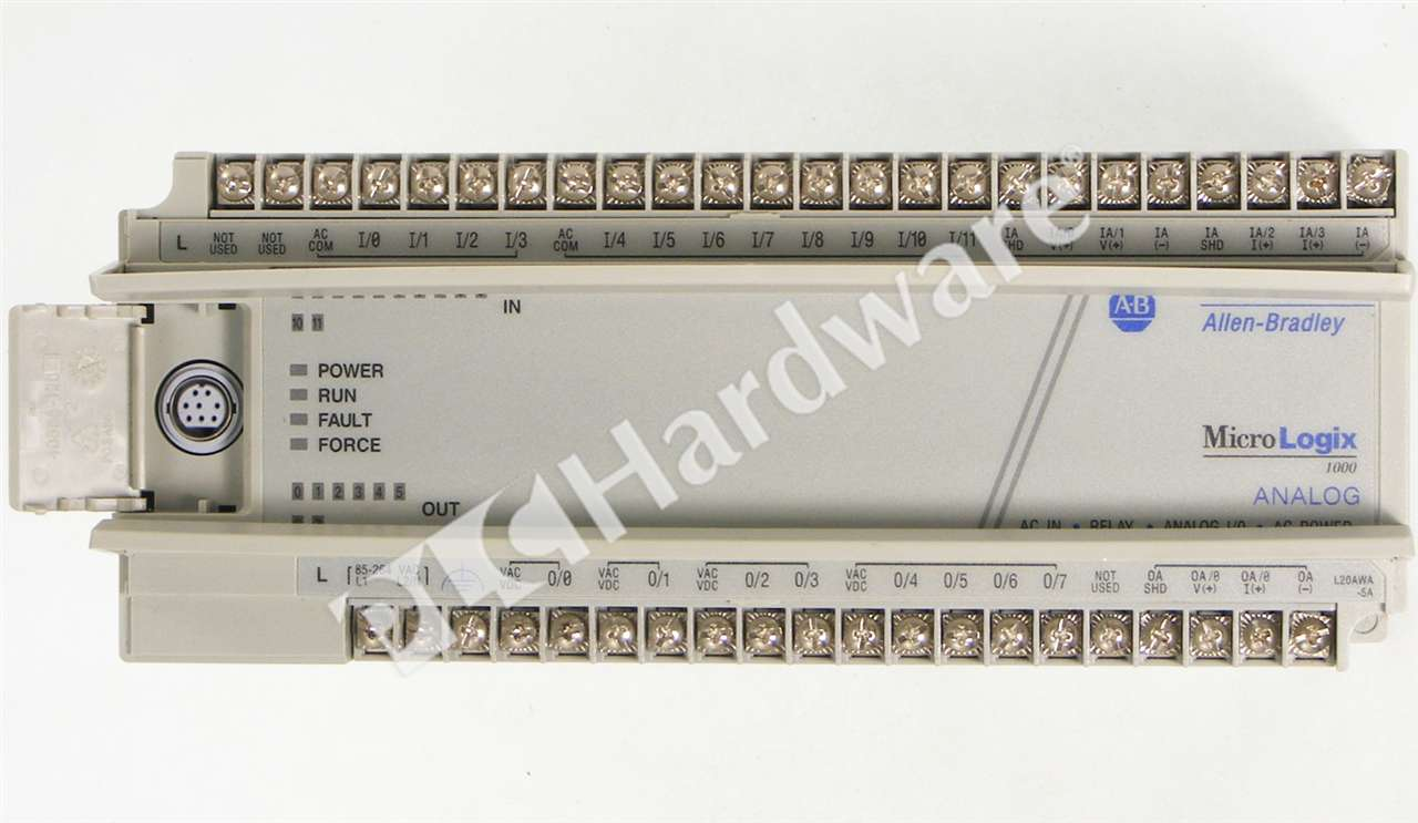 PLC Hardware - Allen Bradley 1761-L20AWA-5A Series A, Used in a ...