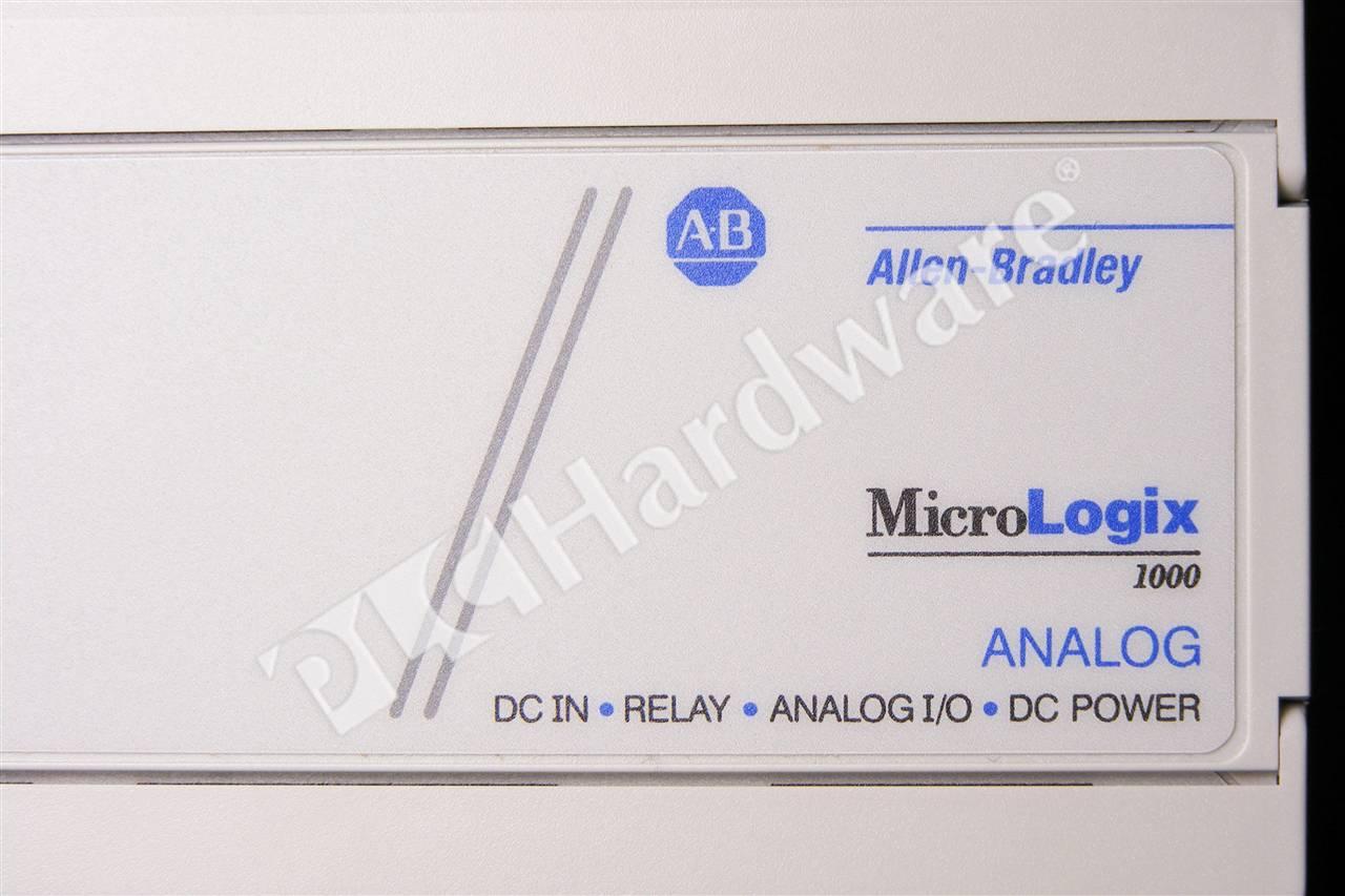 PLC Hardware: Allen-Bradley 1761-L20BWB-5A MicroLogix 1000, 24V DC Power
