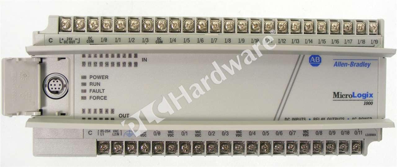 PLC Hardware - Allen Bradley 1761-L32BWA Series E, Used in a PLCH ...