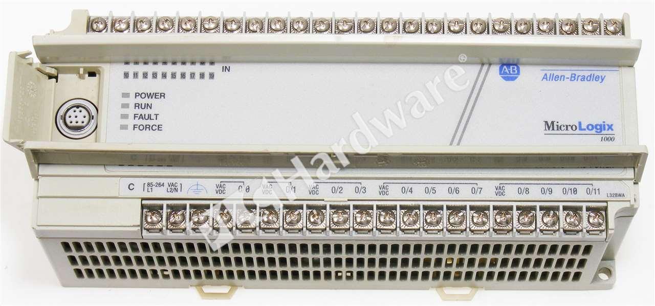 Allen Bradley 1761-L32BWA Series E MicroLogix 1000 120/240V 20-In/12 ...