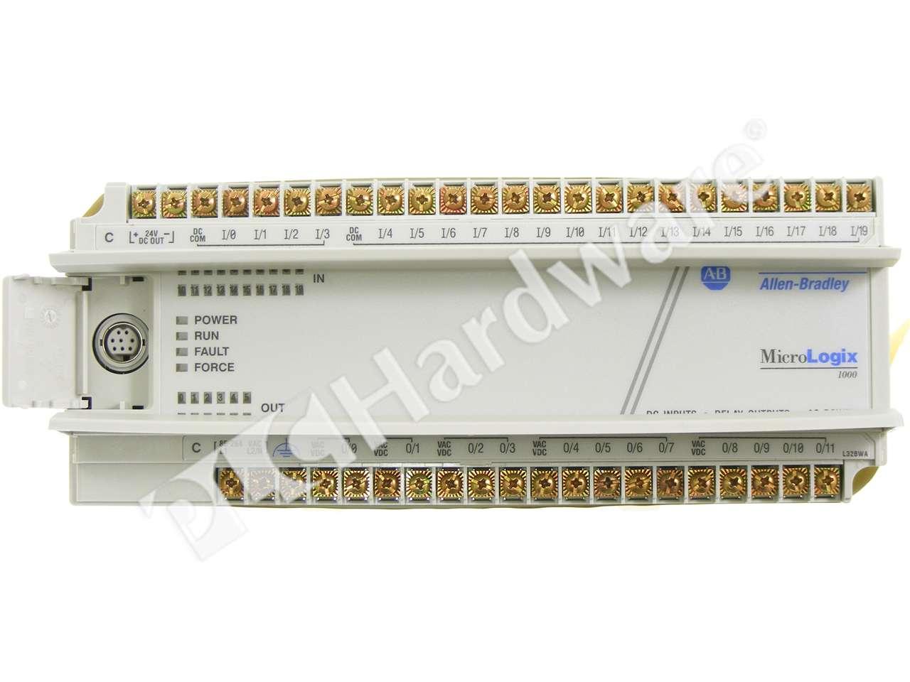 PLC Hardware: Allen-Bradley 1761-L32BWA MicroLogix 1000 Controller ...