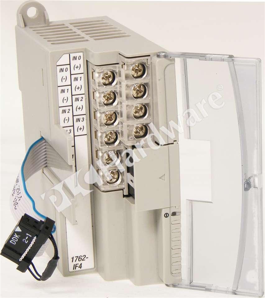 PLC Hardware - Allen dley 1762-IF4 Series A, New Surplus Open