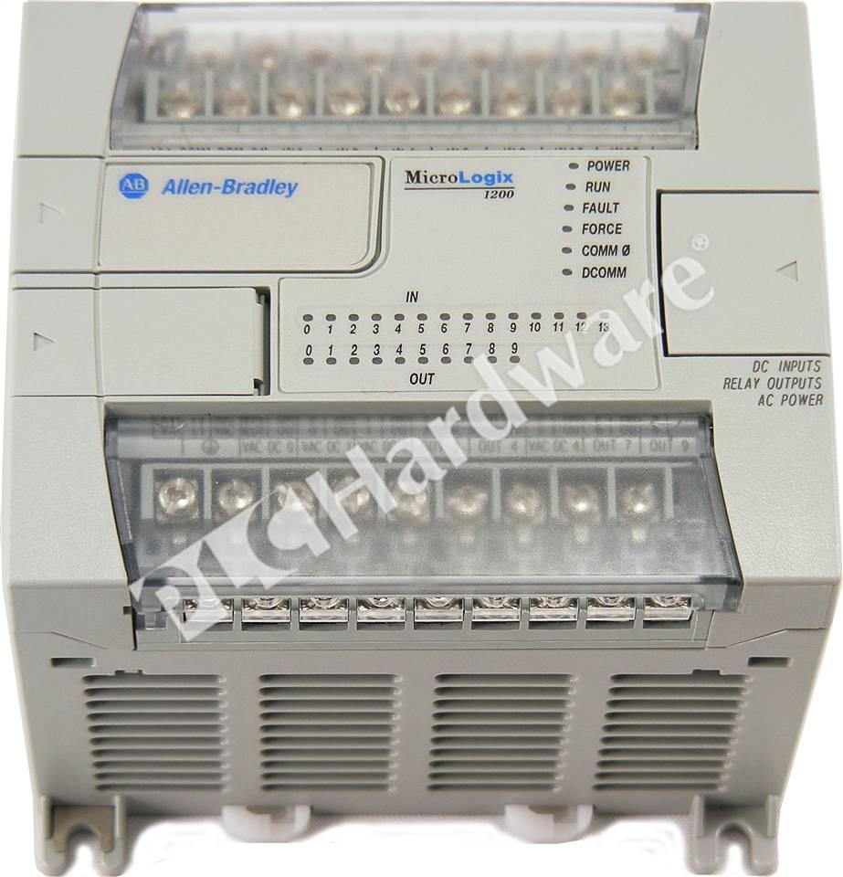PLC Hardware: Allen-Bradley 1762-L24BWA MicroLogix 1200 Controller
