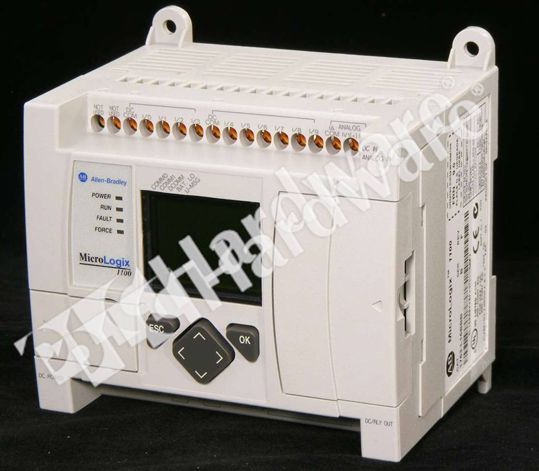 PLC Hardware - Allen Bradley 1763-L16BBB Series B, Used in a PLCH ...