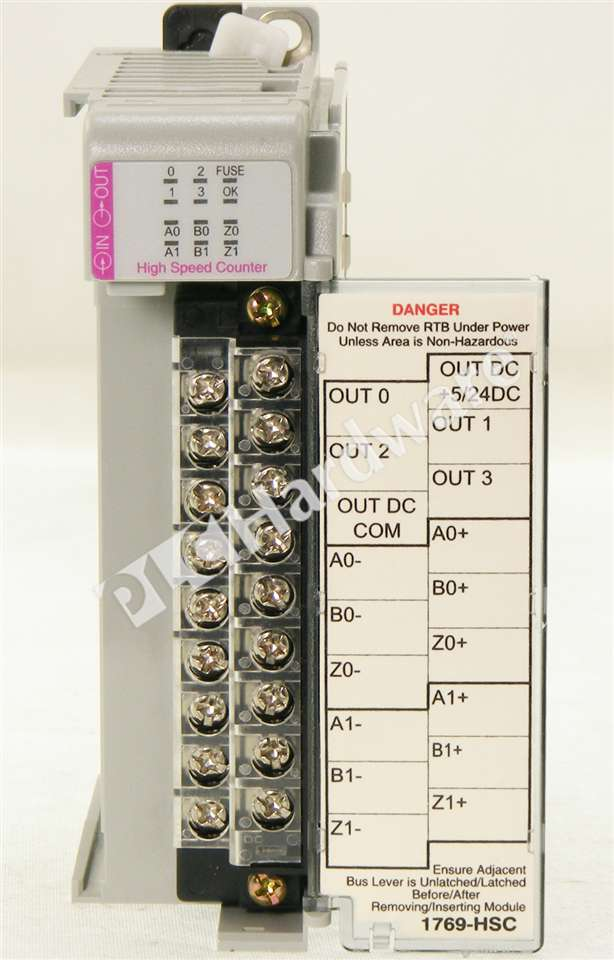 plc hardware allen bradley 1769 hsc series a used in a plch packaging rh plchardware com Owner's Manual User Manual PDF