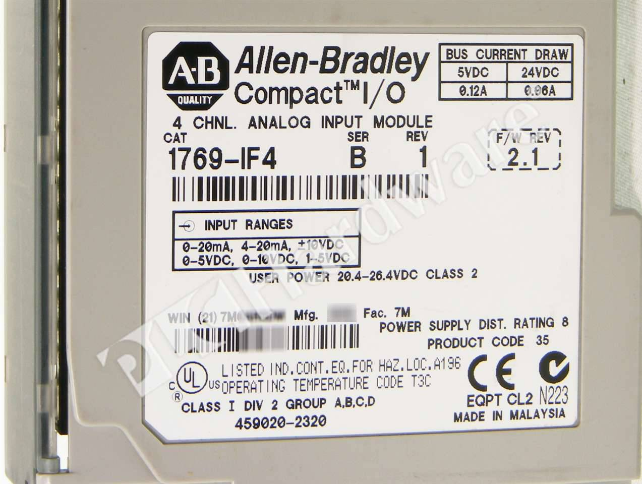 RA 1769 IF4 B UPP 3_b plc hardware allen bradley 1769 if4 4 ch analog current voltage 1769 if4 wiring diagram at mifinder.co