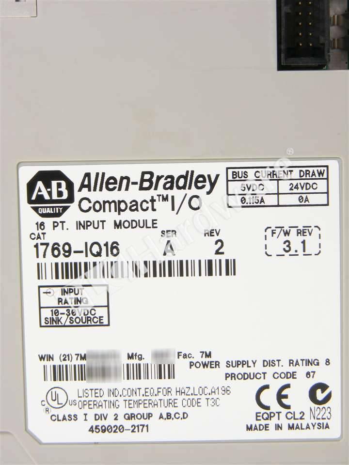 RA 1769 IQ16 A NFO 6_b plc hardware allen bradley 1769 iq16 compactlogix dc input module 1769 iq16 wiring diagram at bakdesigns.co