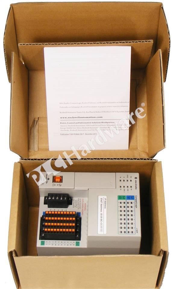 plc hardware allen bradley 1769 l18er bb1b compactlogix 5370 controller 512kb. Black Bedroom Furniture Sets. Home Design Ideas