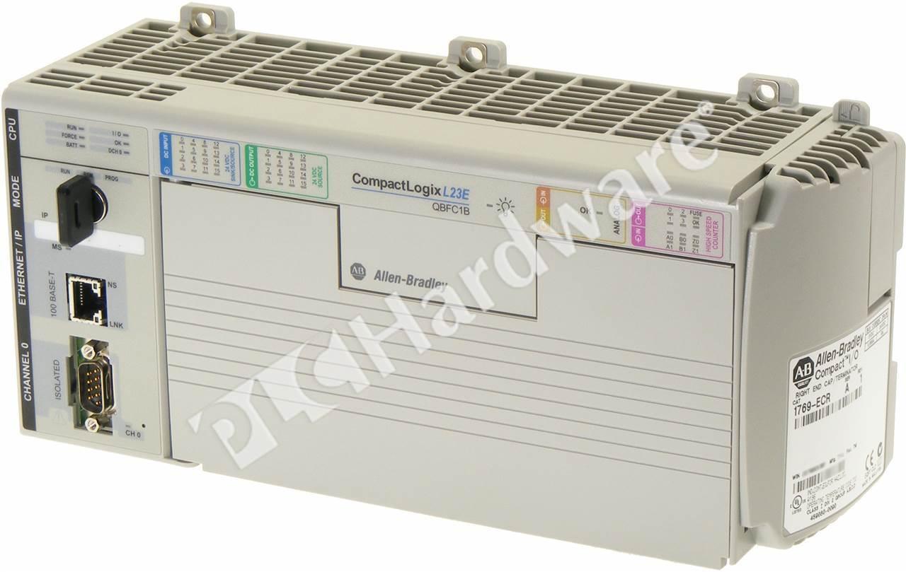 plc hardware allen bradley 1769 l23e qbfc1b compactlogix ethernet rh plchardware com Instruction Manual Example 1769-l23e-qb1b user manual