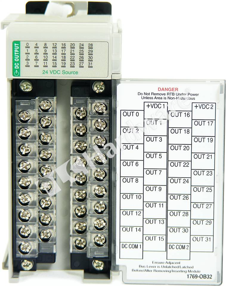 Compact 24v dc sink/source input module