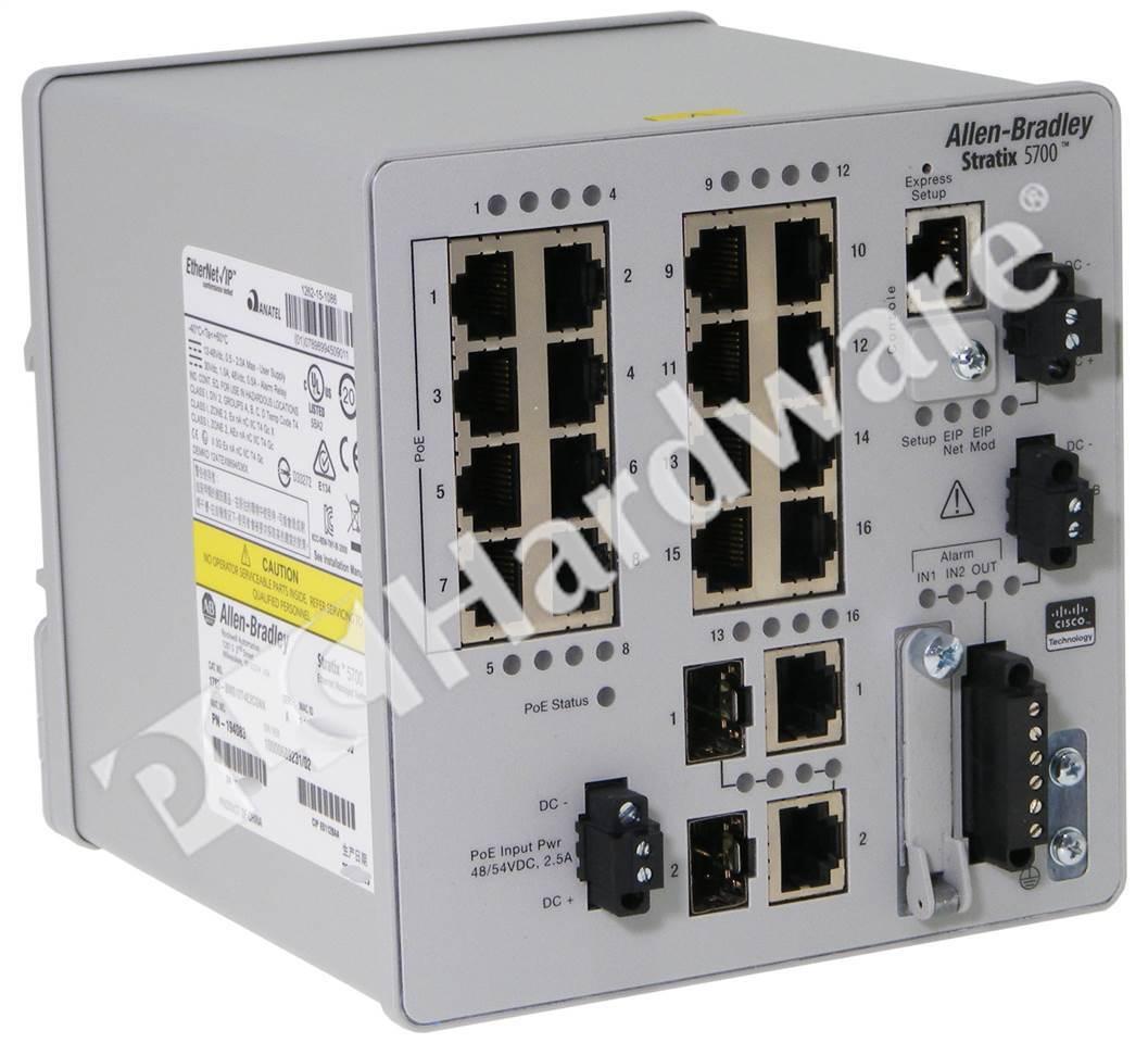 Plc Hardware Allen Bradley 1783 Bms12t4e2cgnk Stratix