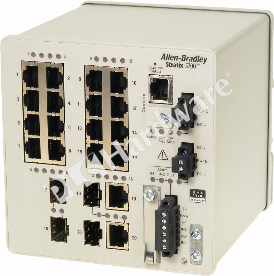 Plc Hardware Allen Bradley 1783 Bms20cl Stratix 5700