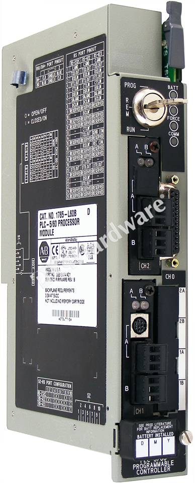Plc hardware allen bradley 1785 l60b series d used in a for 60 1785