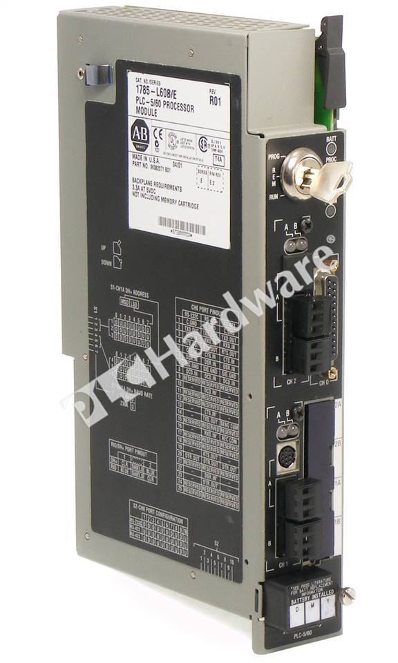 Plc hardware allen bradley 1785 l60b plc 5 60 processor for 60 1785