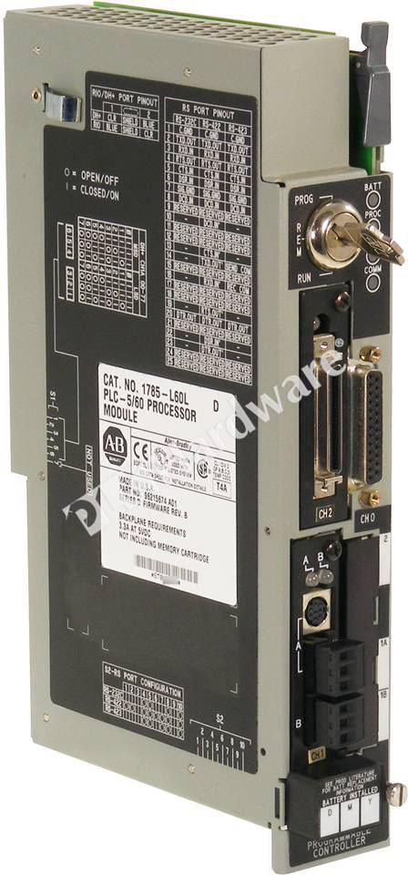 Plc hardware allen bradley 1785 l60l series d used in a for 60 1785