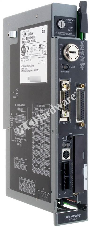 Plc Hardware Allen Bradley 1785 L80e Series E Used In Plch Packaging