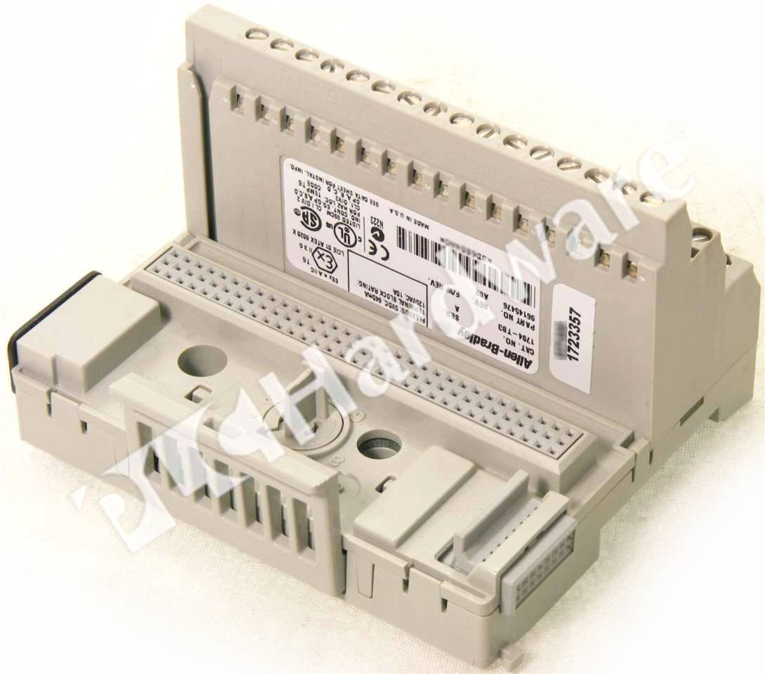 RA 1794 TB3 A UPP 5_b plc hardware allen bradley 1794 tb3 series a, new factory sealed 1794 ib16 wiring diagram at mifinder.co
