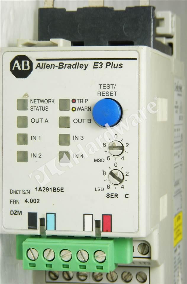 Plc Hardware Allen Bradley 193 Ec2bd Series C Used In A