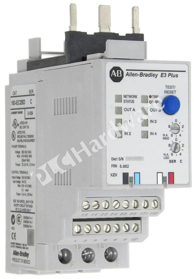Plc Hardware Allen Bradley 193 Ec2bd Electronic Motor