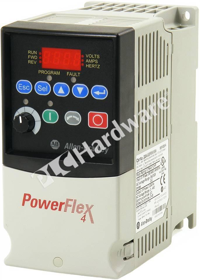 1PC New 22A-B4P5N104 PowerFlex 4 AC Drive 240V 3P 1HP 22AB4P5N104