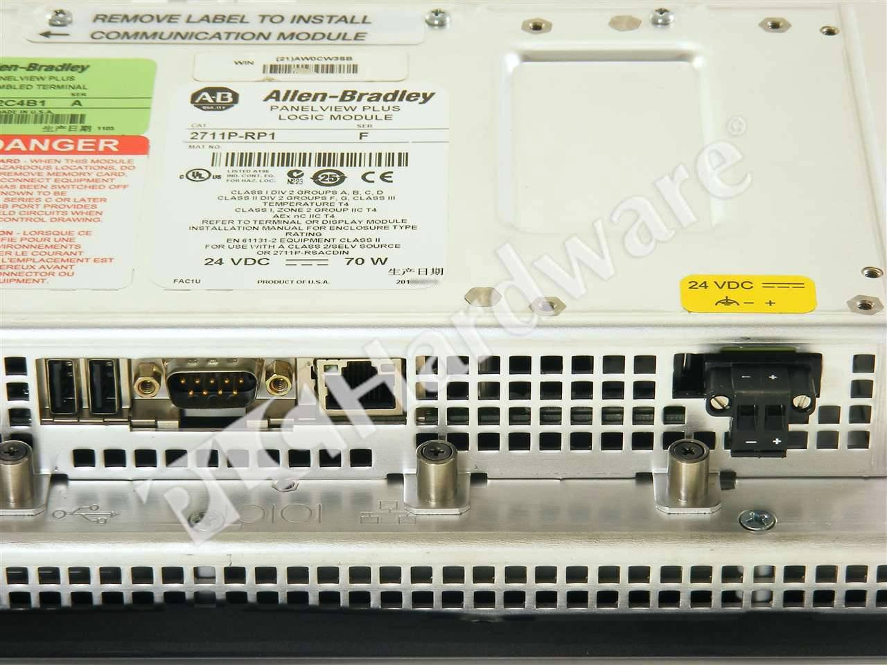 PLC Hardware - ... Panelview Plus 600