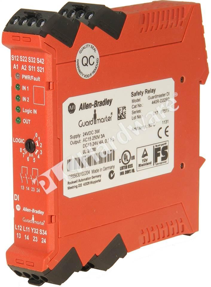 PLC Hardware  Allen Bradley 440RD22R2 Series A  New