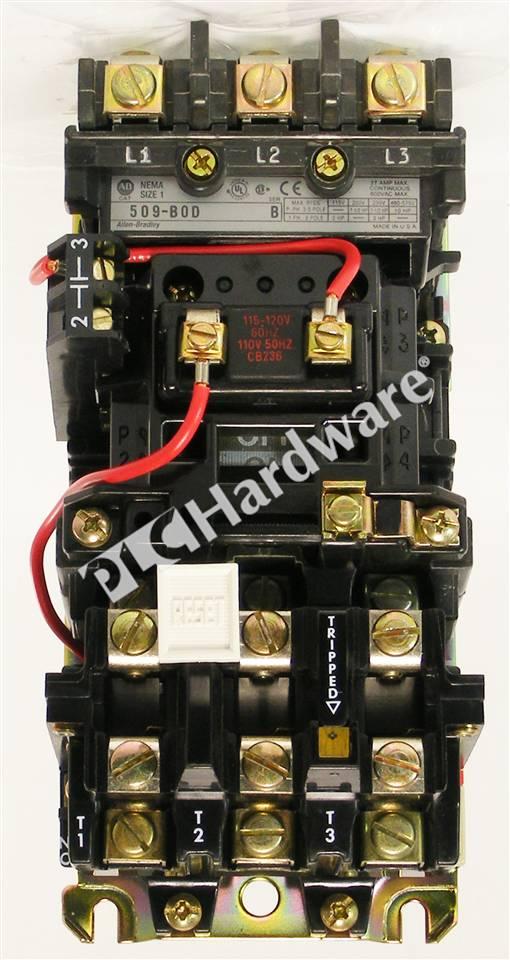 PLC Hardware  Allen    Bradley       509      BOD    Series B  New Surplus