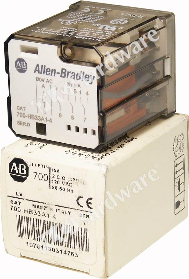 Plc Hardware Allen Bradley 700 Hb33a1 4 Series D New