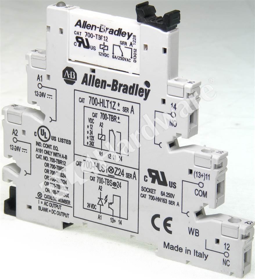 PLC Hardware AllenBradley HLTZ Electromechanical Relay - Electromechanical relay logic