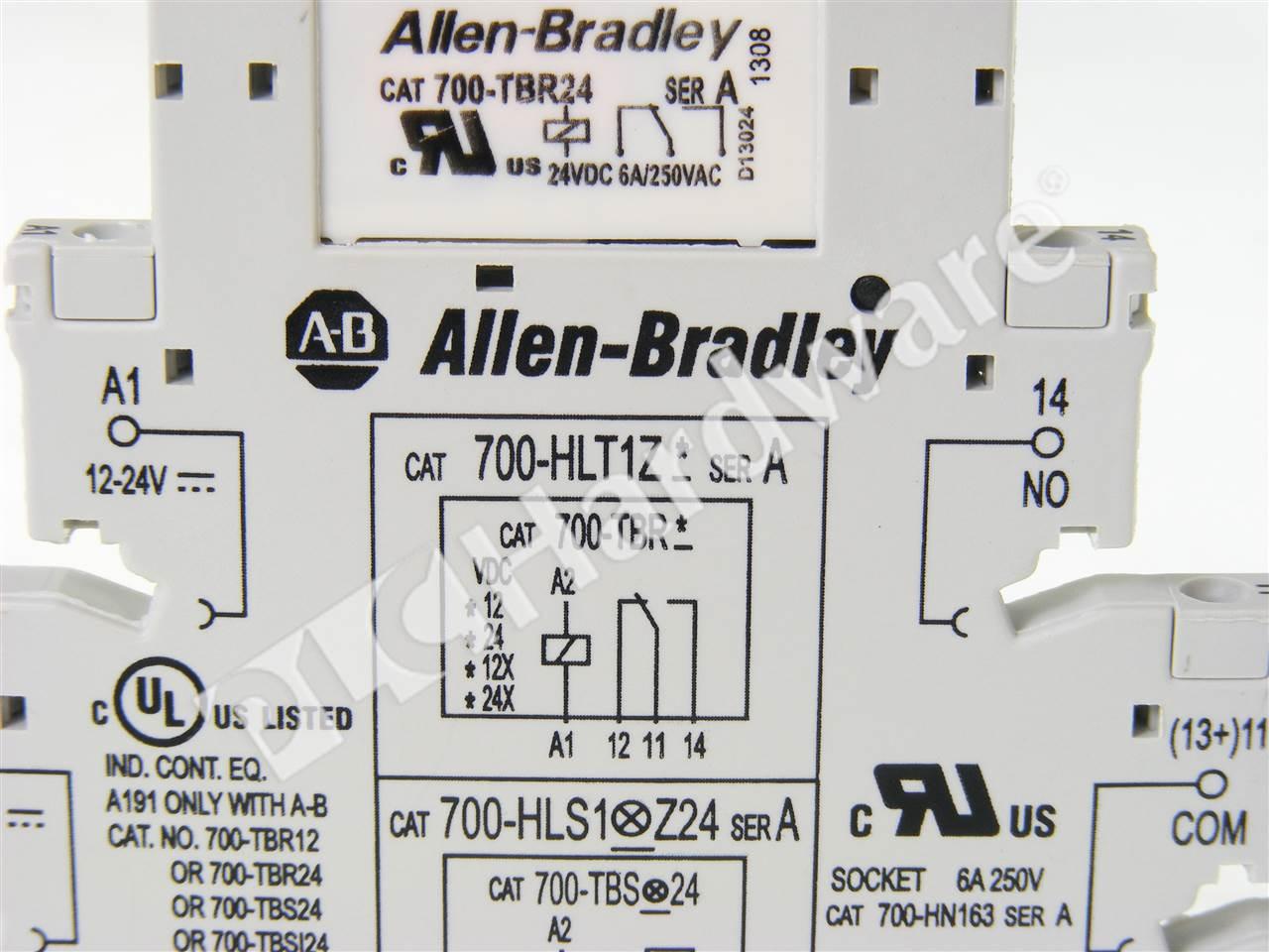 700-HLT1Z24 Ab Interposing Relay Wiring on