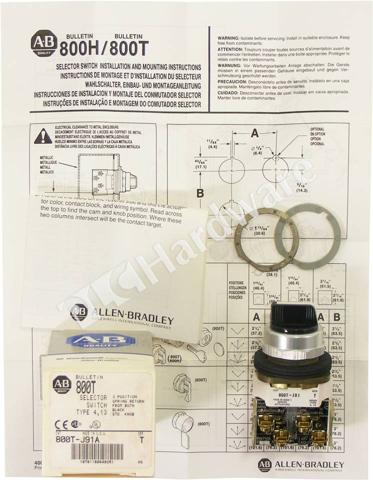 RA-800T-J91A-T-NSO-3_b Hand Off Auto Switch Wiring Diagram on