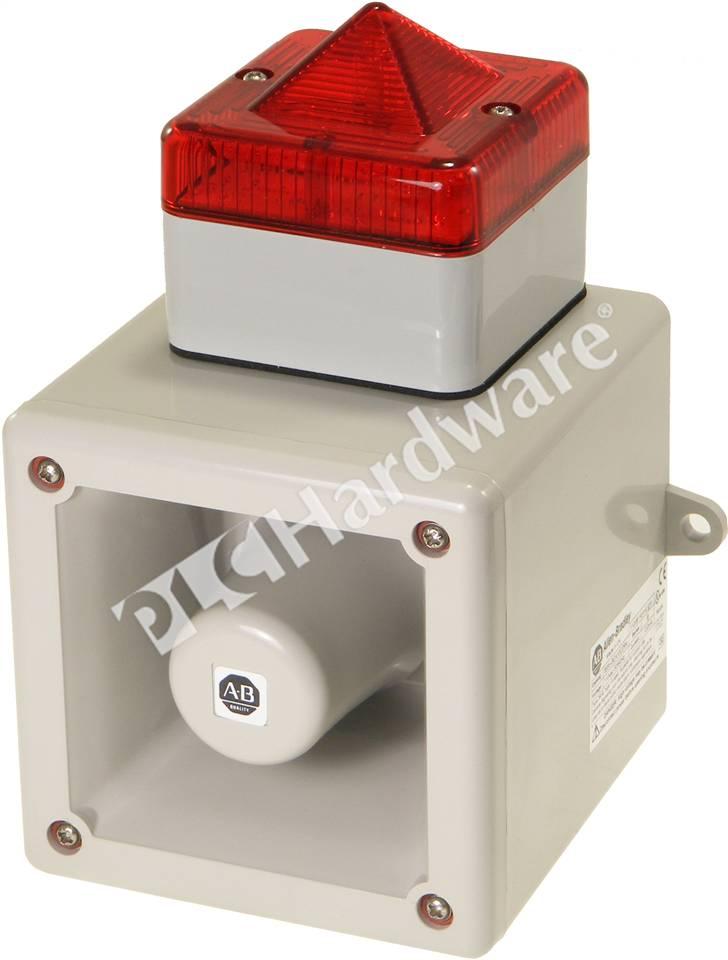 WWW_855HH_COM_PLCHardware:Allen-Bradley855H-BCA10CDR4855HIndustrialHornw/Beacon,Red