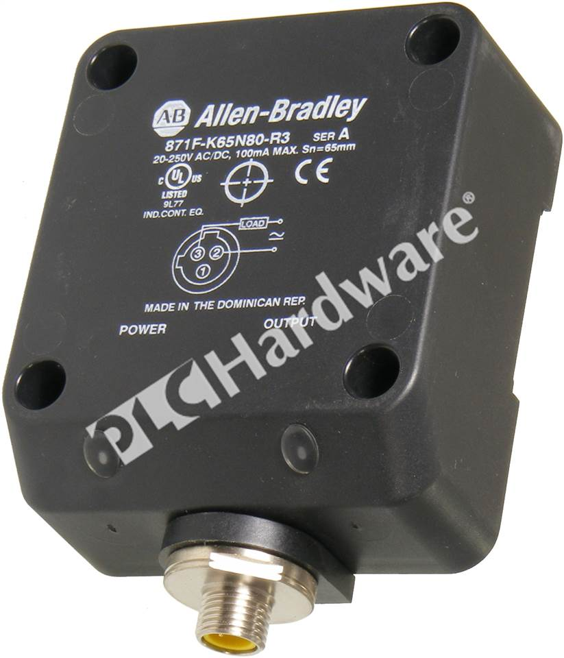 Plc Hardware Allen Bradley 871f K65n80 R3 Proximity Sensor 2 Wire Switches Ac Dc