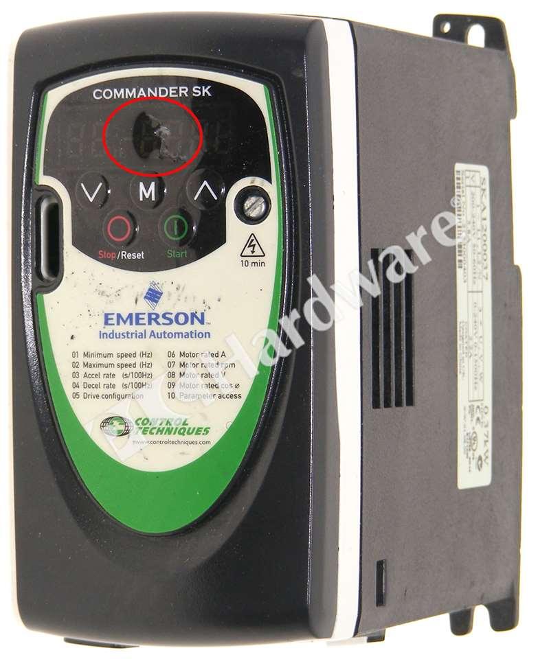 CONTROL TECHNIQUES EMERSON COMMANDER SK SKA1200037 0.37kW