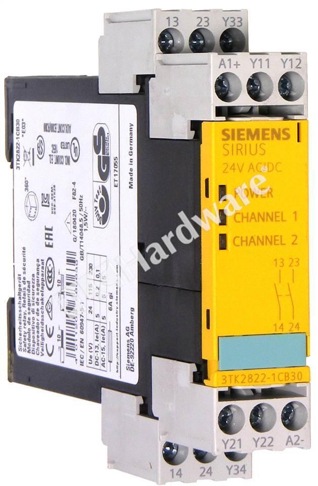 Siemens 3TK2821-1CB30 Relais de sécurité Siemens SIRIUS 24V