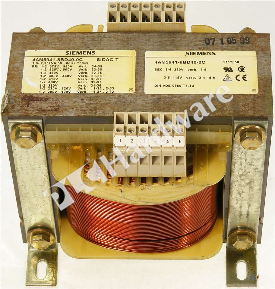 Siemens 4am5941 8bd40 0c 4am5 941 Sidac T Control Circuit Basic Operation Click To Zoom