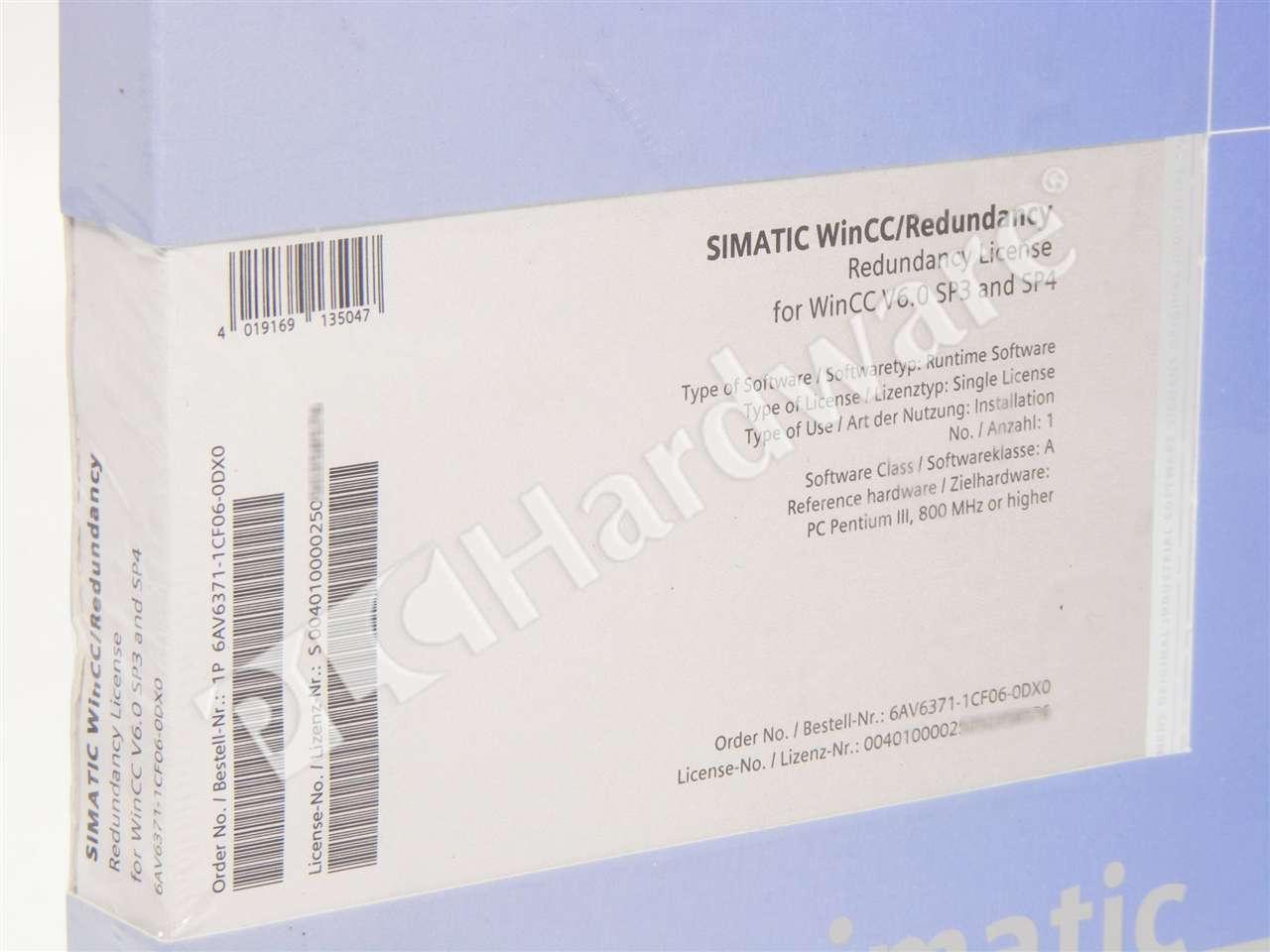 Details about New Sealed Siemens 6AV6371-1CF06-0DX0 6AV6 371-1CF06-0DX0  SIMATIC WinCC Software