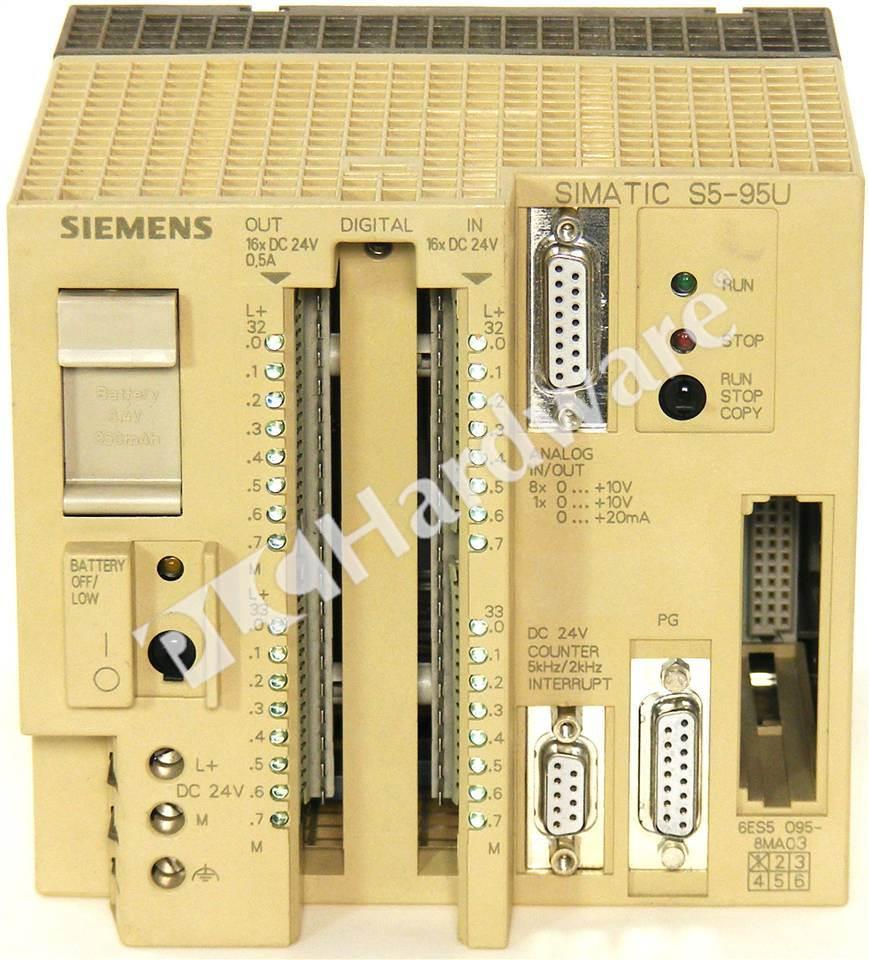 Siemens 6ES5095-8MA03 Processor//Controller for sale online