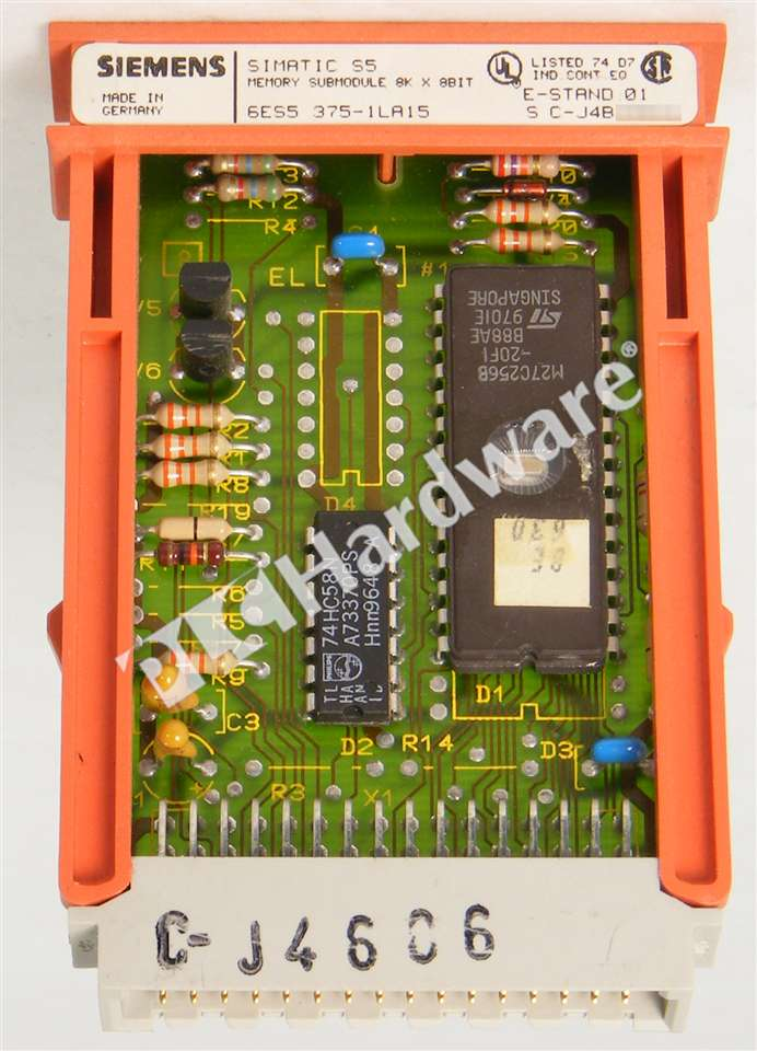 Siemens 6ES5375-1LA15 6ES5 375-1LA15 SIMATIC S5 MS 375 Memory 8KB Qty