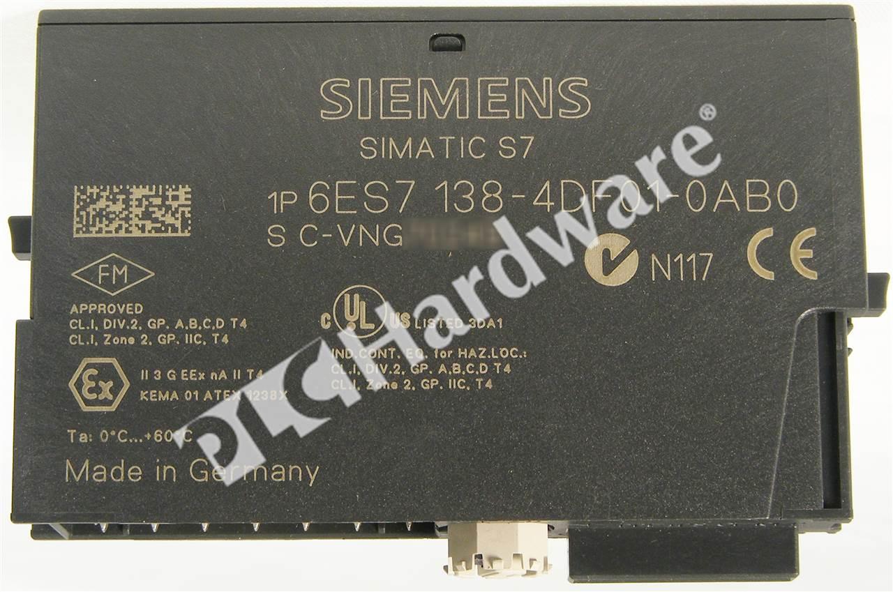 04 sealed Siemens Simatic S7 6ES7 138-4CA50-0AB0 6ES7138-4CA50-0AB0 E