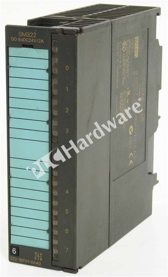 Siemens 6ES7322-1BF01-0AA0 Simatic S7-300 digital out SM 322 optically isolated