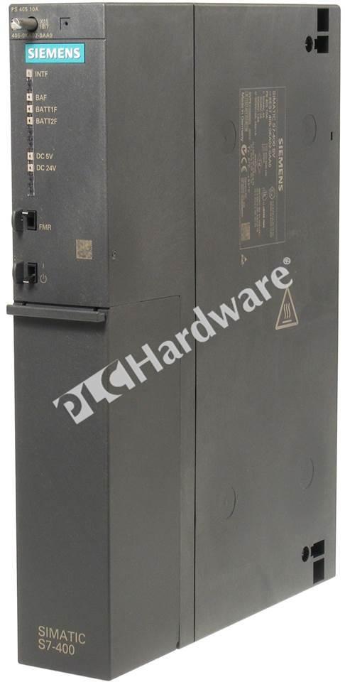 DC 5v//10a Siemens Simatic s7-400 6es7 405-0ka00-0aa0 PS 405 10 A DC 24 V